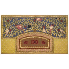 Late 19th Century Scandinavian Arts & Crafts Tapestry