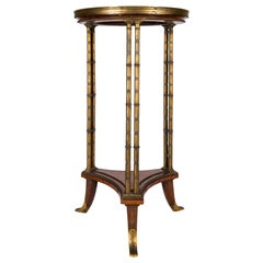 Late 19th Century Side Table, Signed Henry Dasson