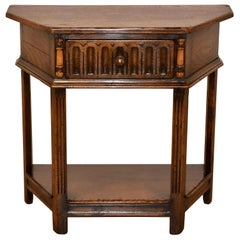 Late 19th Century Six Sided Side Table