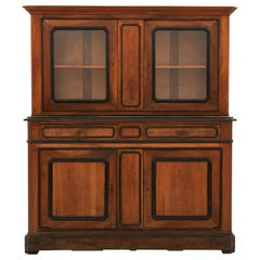 Late 19th Century Spanish Breakfront Cabinet