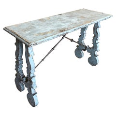 Late 19th Century Spanish Console Table