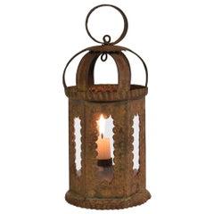 Late 19th Century Spanish Iron Lantern
