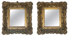 Late 19th Century Spanish Pair of Wooden Frames