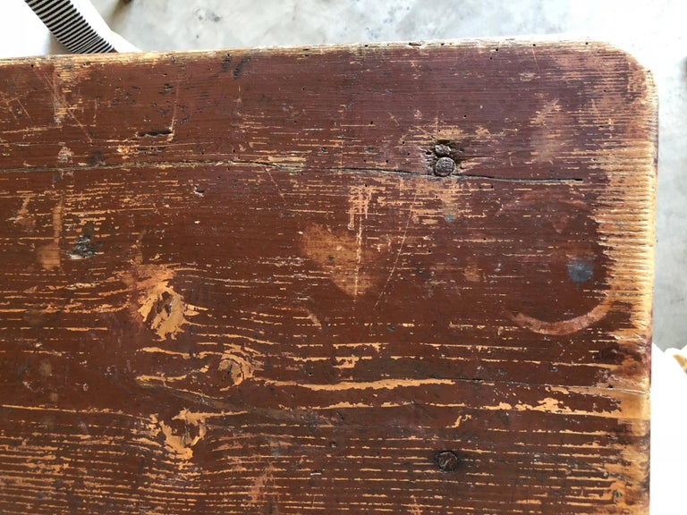 Late 19th Century Table Originally Used in French Pub For Sale 2