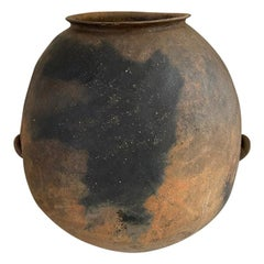 Late 19th Century Terracotta Jar from Mexico