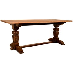 Late 19th Century Trestle Table