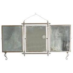 Late 19th Century Tri-Fold Vanity Mirror