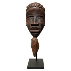 Late 19th Century Tribal Dan Passport Mask, Liberia
