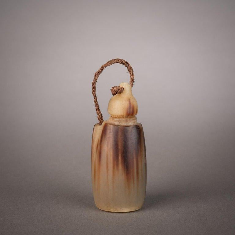 South African Late 19th Century Tribal Snuff Bottle, Southern Africa For Sale