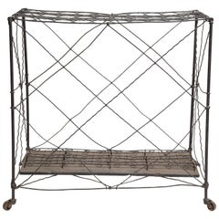 Late 19th Century, Wire Cane Stand