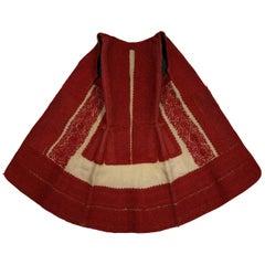 Late 19th Century Woman's Waist Coat, Macedonia