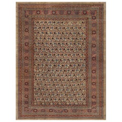 Late 19th Century Wool Bakhshaish Rug from North West Persia