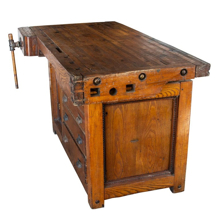 Late 19th Century Workbench For Sale 1
