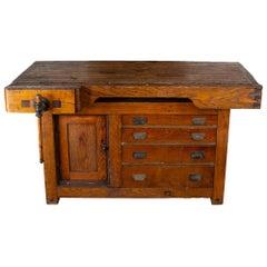 Late 19th Century Workbench