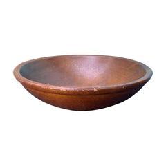 Late 19th-Early 20th Century American Handmade Bowl