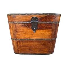 Late 19th-Early 20th Century Camphor Wood Box, circa 1900