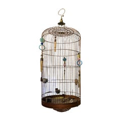 Late 19th-Early 20th Century Chinese Hanging Birdcage