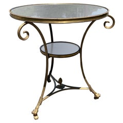 Late 19th-Early 20th Century Directoire Style Bronze Gueridon
