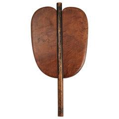 Late 19th-Early 20th Century Sumo Referee's Fan 'Gunbai', Japan