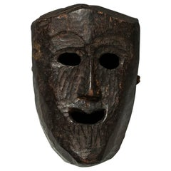 Late 19th-Early 20th Century Tribal Mask, Middle Hills, Nepal