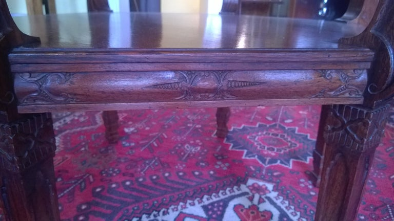 English Late 19th Century Rosewood Center Table For Sale