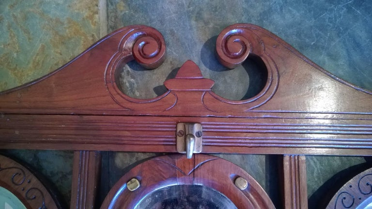 Late 19th Century Walnut Coat Rack In Good Condition For Sale In Altrincham, Cheshire