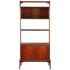 Late 20th Century Danish Teak Modular Bookcase