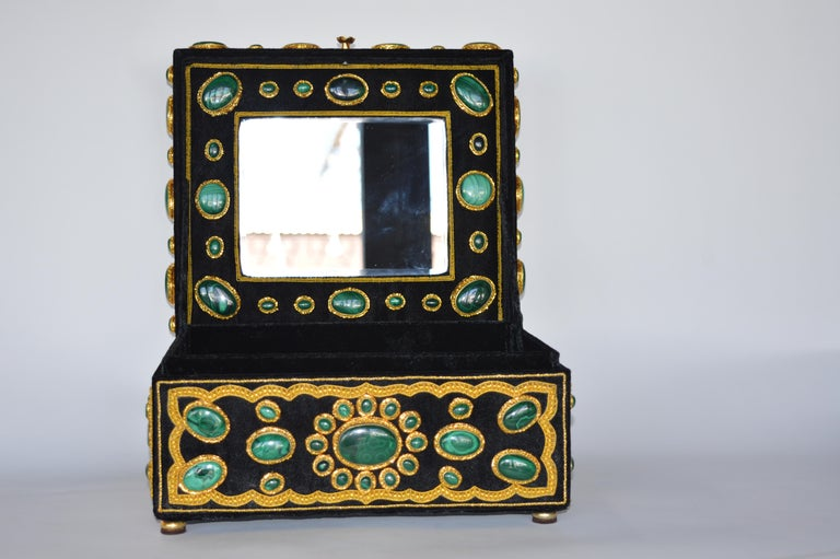 Other Late 20th Century Handmade Jewelry Box For Sale