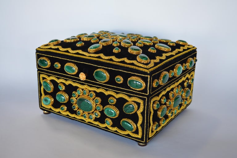 Late 20th Century Handmade Jewelry Box For Sale 1