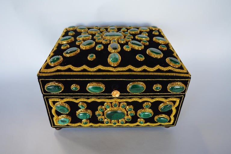 Late 20th Century Handmade Jewelry Box For Sale 3
