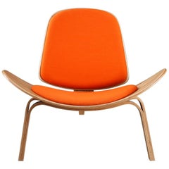 Late 20th Century Hans Wegner, Shell Chair