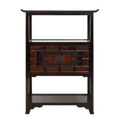 Late 20th Century Korean Two-Door Cabinet