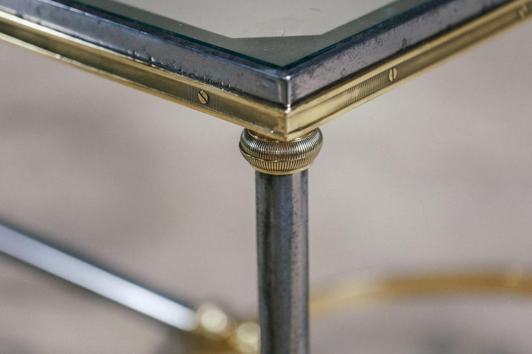 Late 20th Century Maison Charles Hoof Foot Coffee Table For Sale 2