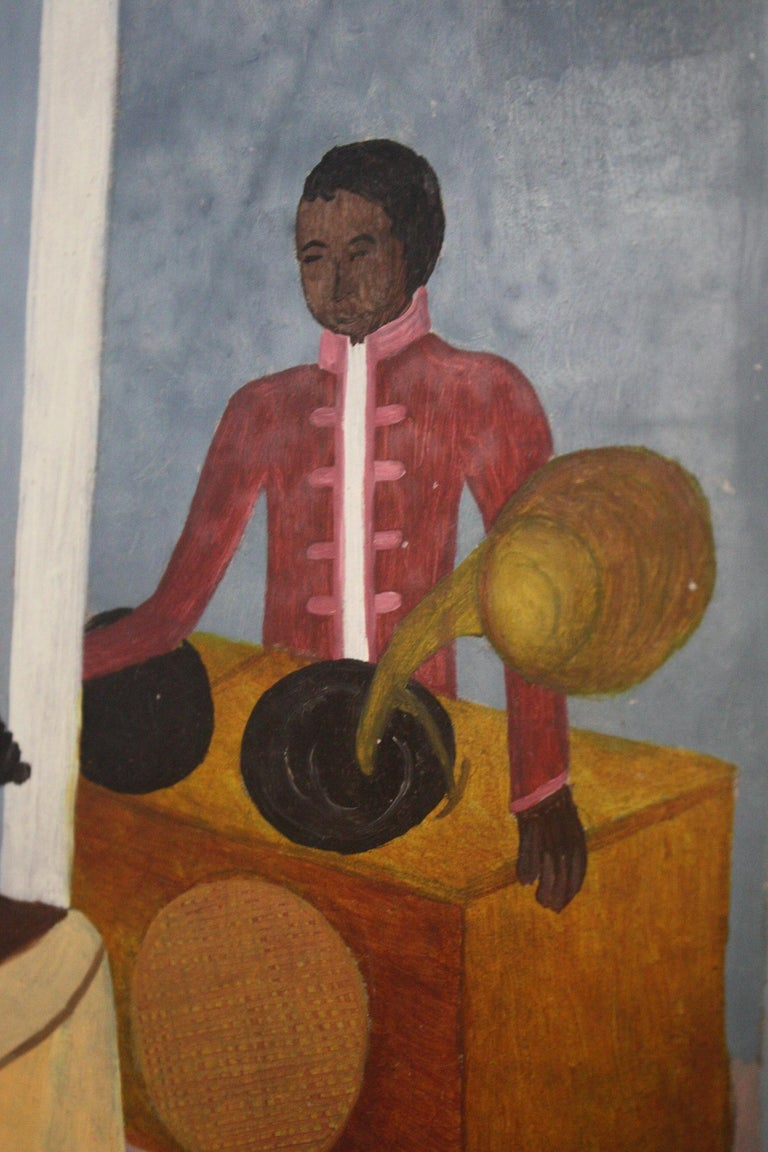 Late 20th Century Phanel Toussaint