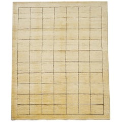 Late 20th Century Rug or Carpet Hand Knotted Wool Beige