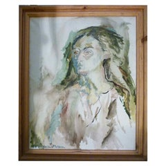 Late 20th Century Spanish Oil Painting, Signed and Framed