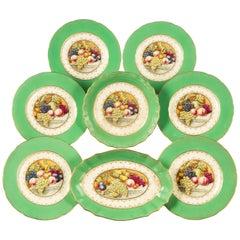 Late 20th Century Spode Porcelain Part Dessert Service