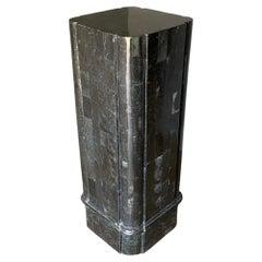 Late 20th Century Tessellated Stone Pedestal