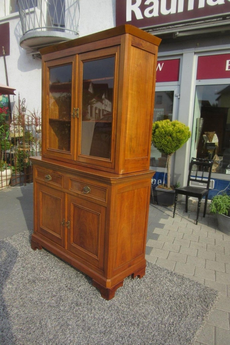 Late Biedermeier Kitchen Cabinet Cherry Wood, 1870s For ...