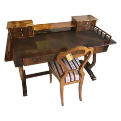 Late Biedermeier Writing Table from 1865