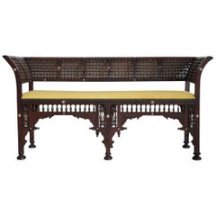 Late 19th Century Moorish Sofa / Bench