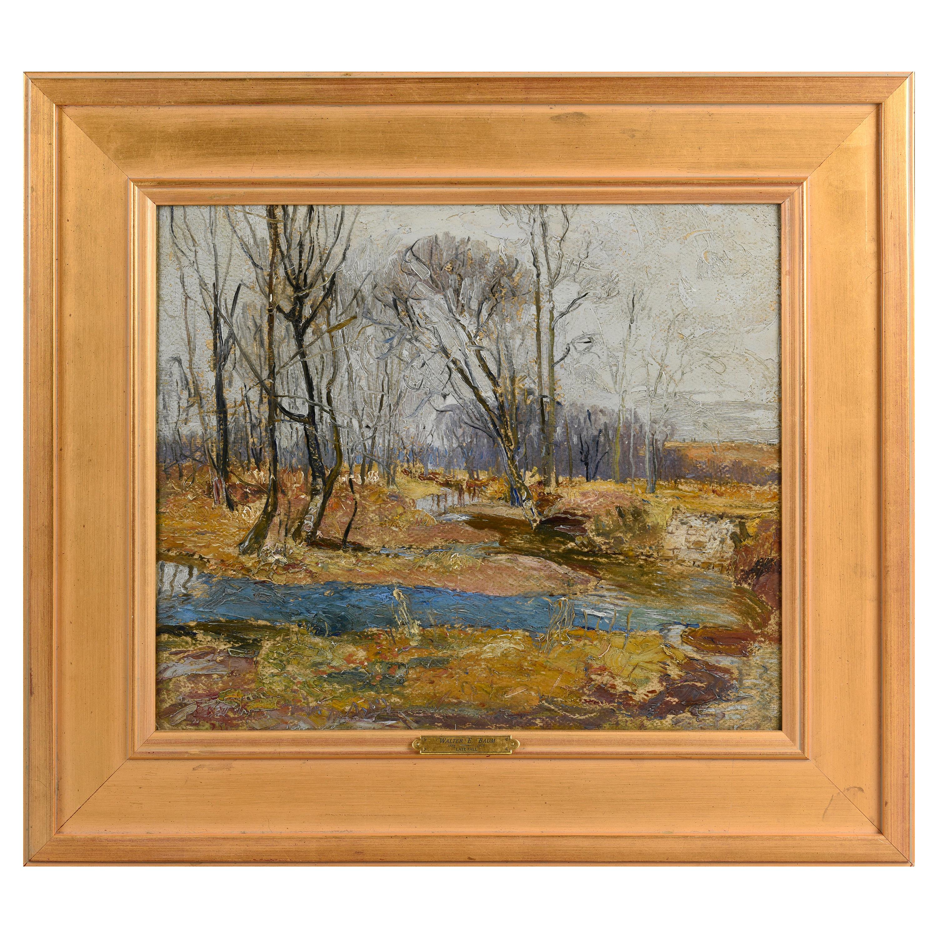 """""""Late Fall"""" by Walter Baum"""