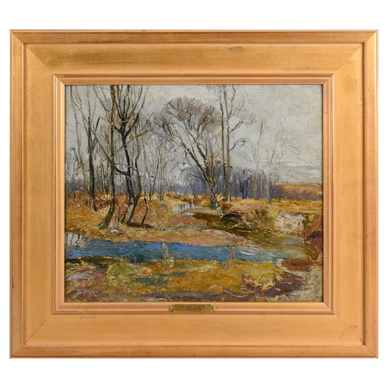 """Late Fall"" by Walter Baum For Sale"