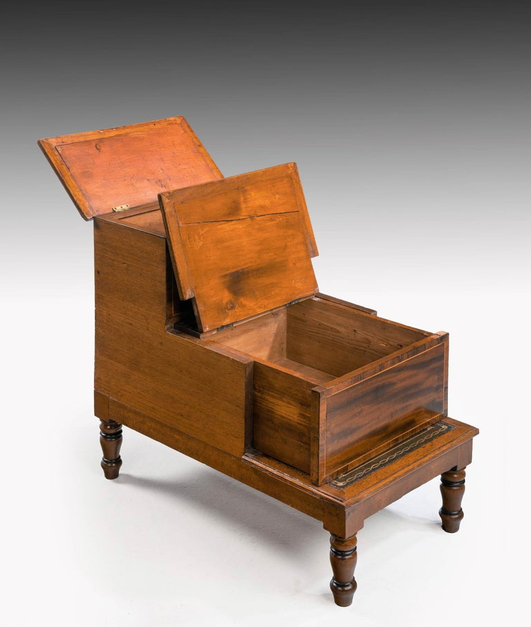 Late George III Period Bed Step Commode 2