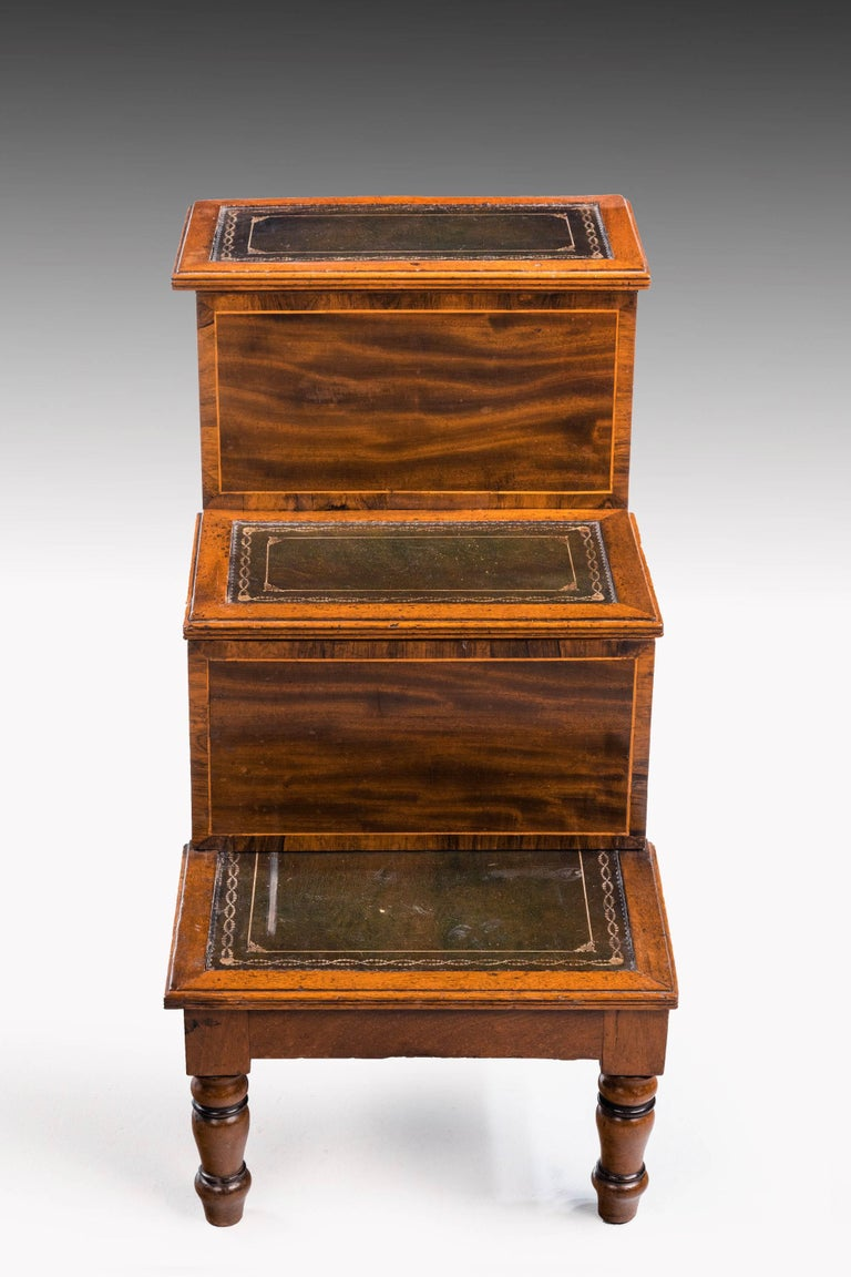 Late George III Period Bed Step Commode 3