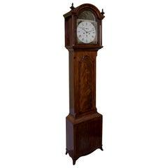 Late Georgian Mahogany Longcase Clock, circa 1800