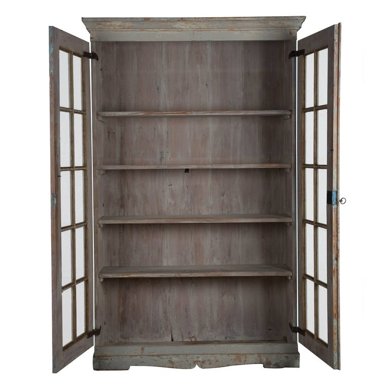 Swedish Late Gustavian Glazed Bookcase