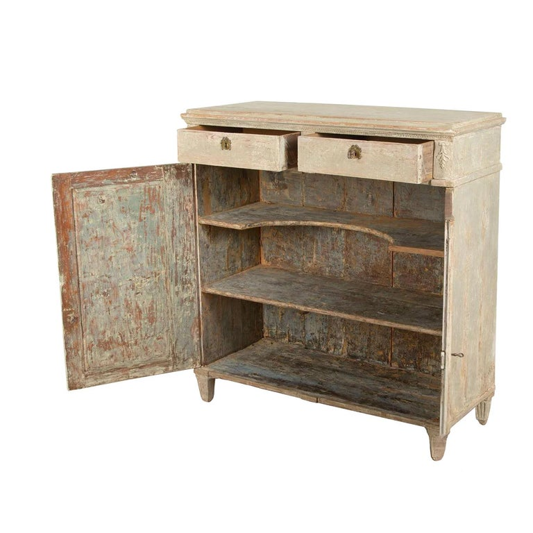 Late Gustavian Swedish Buffet In Good Condition For Sale In Tetbury, Gloucestershire