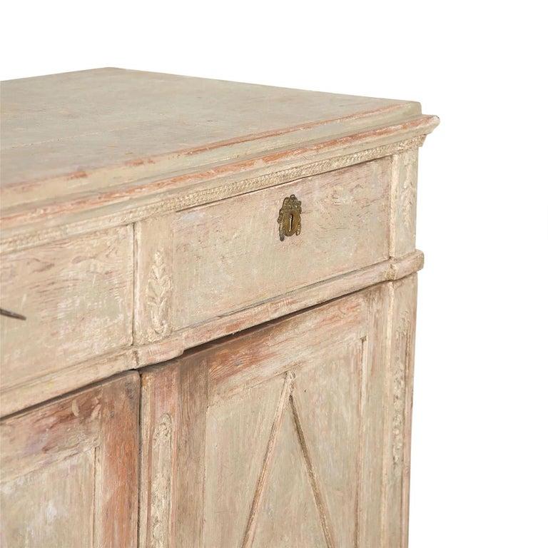 Late Gustavian Swedish Buffet For Sale 1