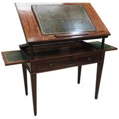 Late Louis XVI Mahogany Architect's Table, Late 18th Century